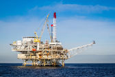 Piattaforma petrolifera — Foto Stock