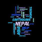 Nepal Earthquake Tremore — Stock Photo