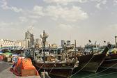 Dubai Port Saeed — Stock Photo
