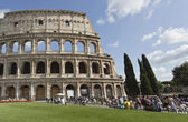 Flavian Amphitheatre — Stock Photo