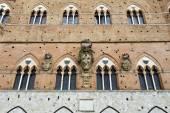 Palazzo Pubblico in Siena — Stock Photo