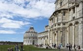 Pisa Baptistry and Cathedral — Stock Photo