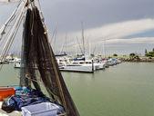 Scarborough Fishing Boat — Stock Photo