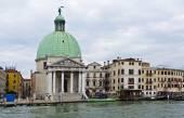 Venice Church of San Simeone Piccolo  — Stock Photo