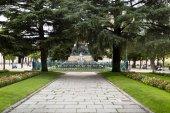 Segovia El Alcazar Garden — Stock Photo