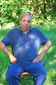 Afryki amerykański mężczyzna. — Zdjęcie stockowe