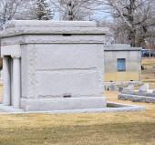 кладбище. — Стоковое фото