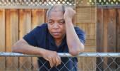 アフリカ系アメリカ人男性. — ストック写真
