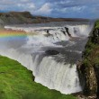 Waterfall in Iceland. Gullfoss. — Stock Photo #63989231