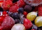 Frozen fruit — Stock Photo