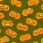 Pumpkins pattern — Stock Vector #53139255