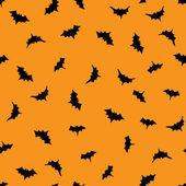 コウモリのパターン — ストックベクタ