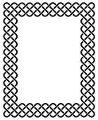 Celtic-frame — Stock Vector