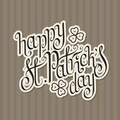 St.patrick szczęśliwy dzień — Wektor stockowy