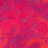 抽象的な幾何学的な背景が赤 — ストックベクタ