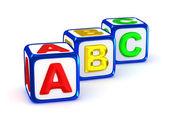 ABC alphabet. — Stock Photo