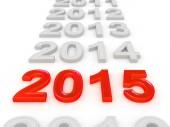Szczęśliwego nowego roku 2015 — Zdjęcie stockowe