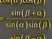 Mathematical formulas. — Stock Photo