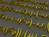 Wiskundige formules. — Stockfoto
