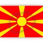 Map of Macedonia. — Stock Photo #65475673