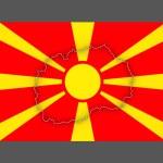 Map of Macedonia. — Stock Photo #65803013