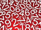 Background of numbers. — Stock Photo