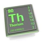 Thorium. Chemical element. — Stock Photo #66010587