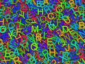 Буквы английского алфавита. — Стоковое фото