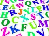 英語のアルファベットの文字. — ストック写真