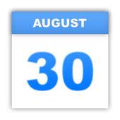 Day on the calendar. 3d — Stock Photo