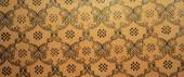 Vintage brown damask seamless pattern background — Stock Photo