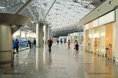 Moskva, Ruská federace, Březen 06,2015: interiér letiště vnukovo. — Stock fotografie