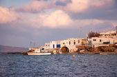 A fishing village near the Mediterranean Sea - Mykonos, Greece. — Stock Photo