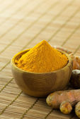 Turmeric powder — Stock Photo