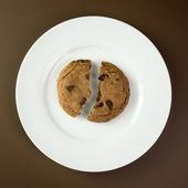 Çikolatalı kurabiye — Stok fotoğraf