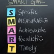 Smart goal setting concept — Stock Photo #61608643