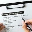 Customer satisfactory survey — Stock Photo #67133213