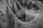 Old fishing nets. — Stock Photo