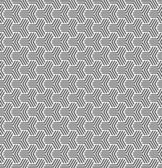 Kesintisiz geometrik op art doku. — Stok Vektör
