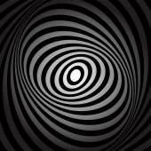 Whirl movement illusion. — Stock Vector