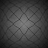 Convex interlacing pattern.  — Stock Vector