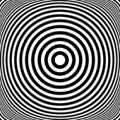 Concentric rings. Circles texture. Abstract illustration. — Stock Photo