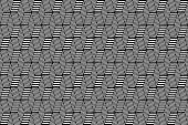 Seamless op art texture. Latticed pattern.  — Stock Vector