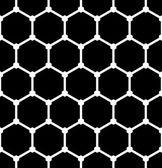 Hexagons pattern. Seamless latticed texture.  — Stock Vector