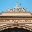 Railway station Keleti in Budapest — Stock Photo #53384331