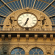Railway station Keleti in Budapest — Stock Photo #53742049