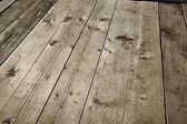 Wood deck — Stock Photo