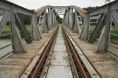 Ponte ferroviária — Foto Stock