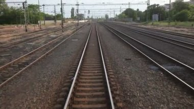 Rail Travel — Stock Video