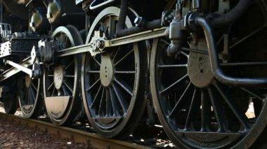 Steam Locomotive — Stock Video